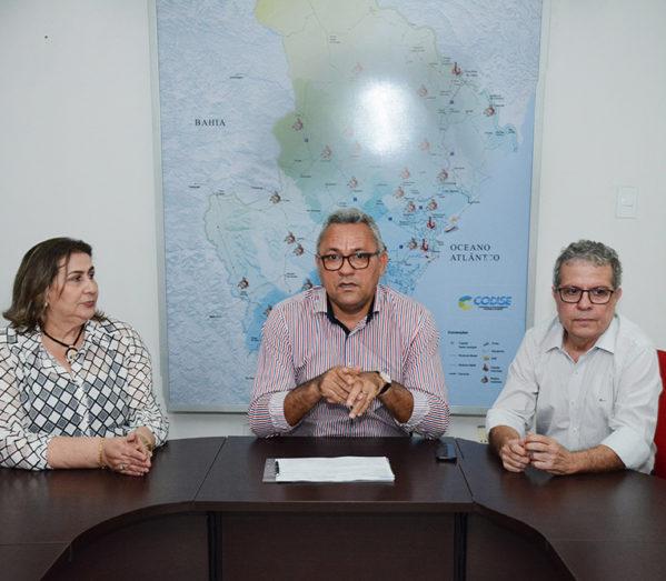 Governo assina ordem de serviços para obras de esgotamento sanitário e macrodrenagem fluvial em Itabaiana