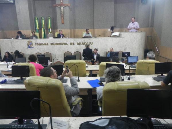 Audiência pública na Câmara de Vereadores de Aracaju discute aumento da passagem de ônibus