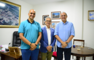 Prefeito Marcos Santana recebe a visita do deputado federal eleito Fábio Henrique