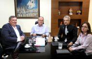 Governador de Sergipe recebe visita do superintendente do Banco do Brasil