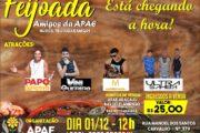 Feijoada da APAE Aracaju acontece no próximo sábado