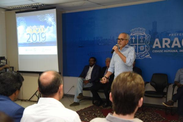 Prefeito de Aracaju anuncia programação do Réveillon