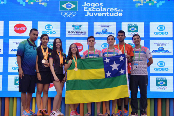 Alunos-atletas do Badminton conquistam três medalhas de ouro, uma de prata e duas de bronze