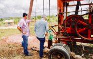 Prefeitura perfura mais um poço para aumentar água no sistema do Loteamento Lauro Rocha
