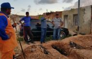 Prefeitura realiza serviços de desobstrução e troca de manilhas da rede de drenagem do Jardim Universitário