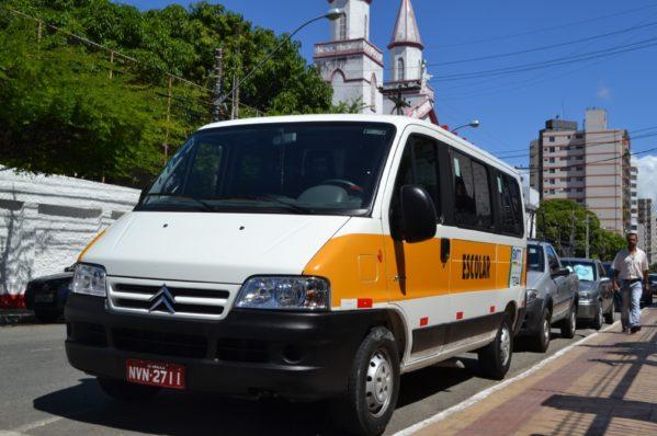 Transportes escolares ficarão isentos da taxa de IPVA a partir de 2019