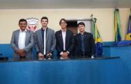 Paulo Júnior toma posse como novo presidente da Mesa Diretora da Câmara de Vereadores de São Cristóvão