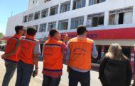 Defesa Civil descarta risco de incêndio e desabamento do Hotel Palace