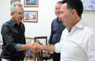 Prefeito de São Cristóvão recebe visita de cortesia do presidente de honra do PRB em Sergipe