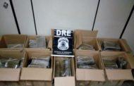 Dois homens são presos com mais de 300 kg de maconha e 1kg de cocaína
