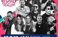 Fest Verão Sergipe 2019 começa no próximo dia 18