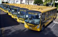 Governo entrega 23 ônibus escolares nesta segunda-feira, 28