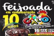Galo do Augusto Franco comemora 10 anos com feijoada e folia