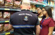 Procon fiscaliza supermercados da capital