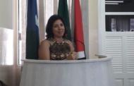 Delegada recebe título de cidadania lagartense pelos serviços prestados no combate a violência doméstica