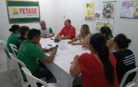 Deputado João Daniel se reúne com direção da Fetase