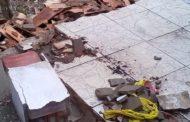 Corpo de criança que morreu após desabamento de telhado é sepultado em Aracaju