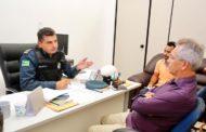 Prefeito de São Cristóvão solicita reforço no policiamento ostensivo durante a Romaria de Senhor dos Passos