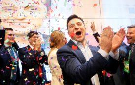 Comediante Volodymyr Zelenskiy é eleito presidente da Ucrânia