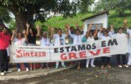 Trabalhadores de Hospital em Laranjeiras completam dois dias de greve