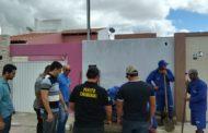 Quatro pessoas são presas em operação contra ligações clandestinas de água no interior de Sergipe