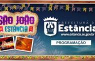 Prefeitura de Estância divulga programação dos Festejos Juninos 2019