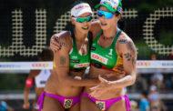 Duda e Ágatha jogarão etapa de mundial de Vôlei de Praia na Polônia