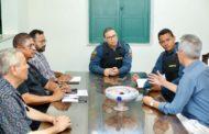 Prefeitura de São Cristóvão e Polícia Militar se reúnem para discutir melhorias na segurança pública