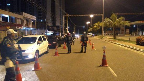Cinco pessoas foram presas no final de semana por dirigir embriagadas