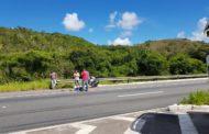 Motociclista tomba no Km 108 da BR-101 e morre no local