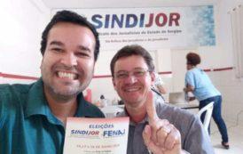 Edmilson Brito é eleito presidente do Sindicato dos Jornalistas de Sergipe