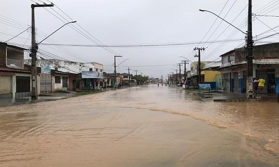 Barragem se rompe em Pedro Alexandre, na Bahia; Prefeitura de Itaporanga D'Ajuda emite notificação de ALERTA
