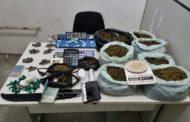 Mulher é presa com 12kg de drogas em São Cristóvão