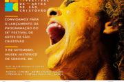 Programação do Festival de Artes de São Cristóvão será divulgada dia 3 de setembro