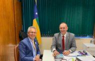Em Brasília, prefeito Marcos Santana e Fábio Henrique discutem investimentos para São Cristóvão