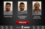 Polícia prende três suspeitos de vender terrenos ilegalmente na Grande Aracaju