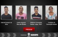 Polícia Civil  prende três suspeitos de roubos de motocicletas na capital