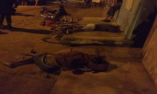 Triplo homicídio de jovens é registrado em Itabaiana