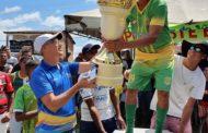 Prefeito Marcos Santana participa da final do 3º Campeonato Municipal de Futebol Amador