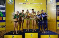 Duda e Ágatha são campeãs de etapa do Open em Vila Velha-ES