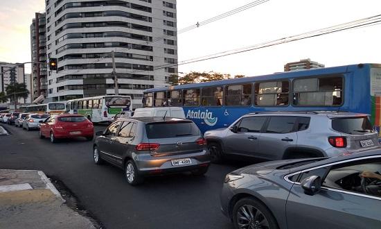 Avenida Beira Mar: saiba onde estão sendo realizados os serviços hoje