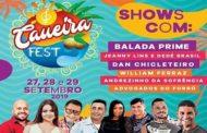 Caueira Fest acontece entre os dias 27 e 29 de setembro