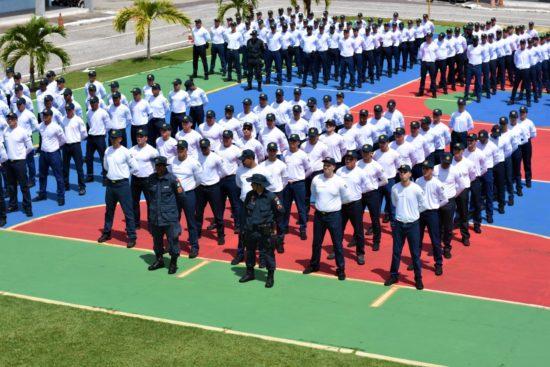 330 aprovados ingressam nos cursos de formação da Polícia Militar