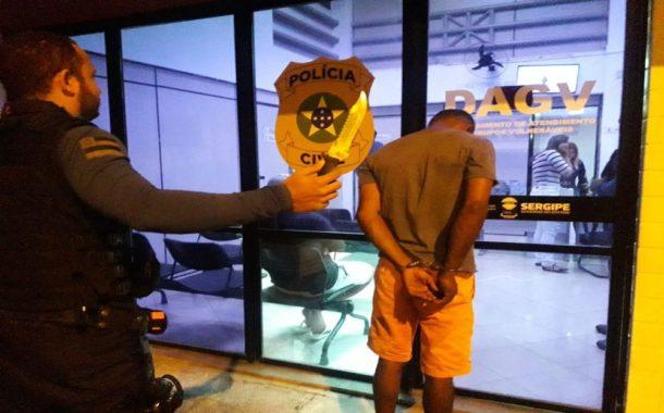 Homem é preso pela Guarda Municipal após agredir companheira em Aracaju