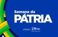 Prefeitura de São Cristóvão inicia comemorações da Semana da Pátria nesta segunda-feira, 2