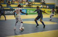 Seleção de São Cristóvão derrota Socorro na segunda rodada da Copa TV Sergipe de Futsal