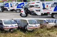 Triciclos de quase R$ 500 mil comprados pelo Governo de Sergipe viram sucatas.