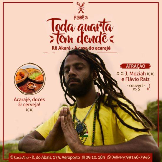 J. Moziah leva reggae, música brasileira e internacional para o Ilê Akará