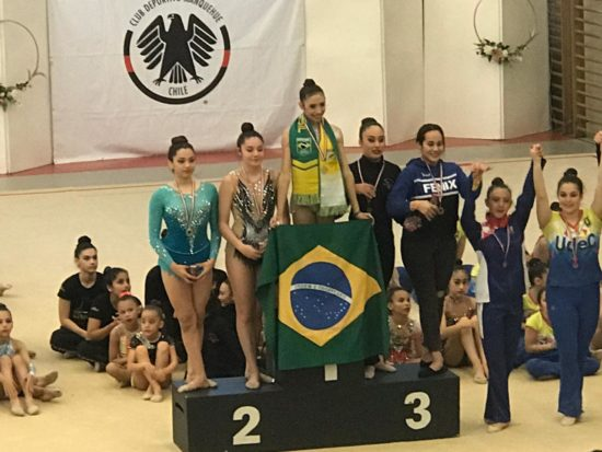 Atletas do Sergipe fazem bonito em competição no Chile e conquistam 4 ouros