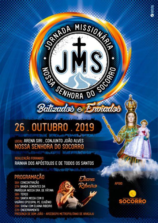 Jornada Missionária será realizada em Nossa Senhora do Socorro